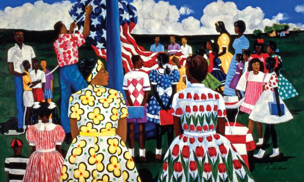 """Decoration (Memorial) Day"", by nationally-renowned Beaufort artist Jonathan Green"