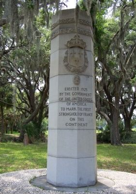 Ribault Monument - 2012 is the 450th Anniversary of Jean Ribault's Landing