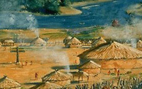 Yemassee Indian Village, ca. 1600
