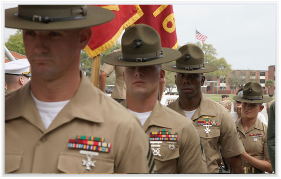 parris island visitor information