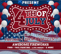 Rhett House Inn July 4th