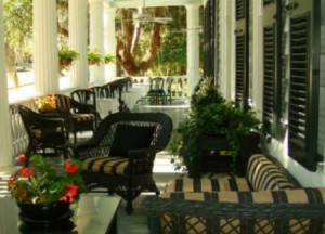 Rhett House Inn - Front Porch