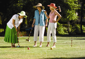 Rhett House Inn Croquet