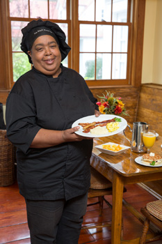 Rhett House Inn's Chef Beverly