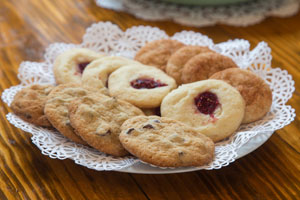 Rhett House Inn home made cookies